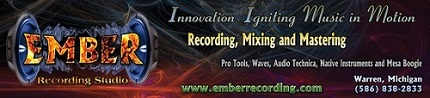 Click Now to visit website of Ember Recording Studio in Warren, Michigan. Located just north of Detroit.