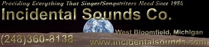 Click Now to visit the website of Incidental Sounds Co.